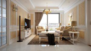 thiet ke noi that can ho chung cu hoang anh gia lai 7 300x169 - Thiết kế căn hộ chung cư Hoàng Anh Gia Lai - Phong cách tân cổ điển