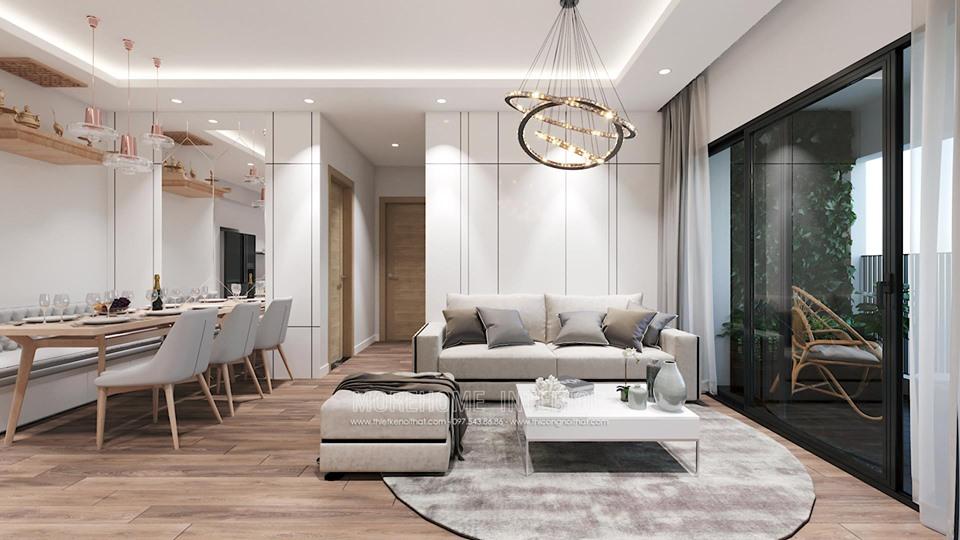 thiet ke noi that chung cu skylake19 - Thiết kế nội thất chung cư